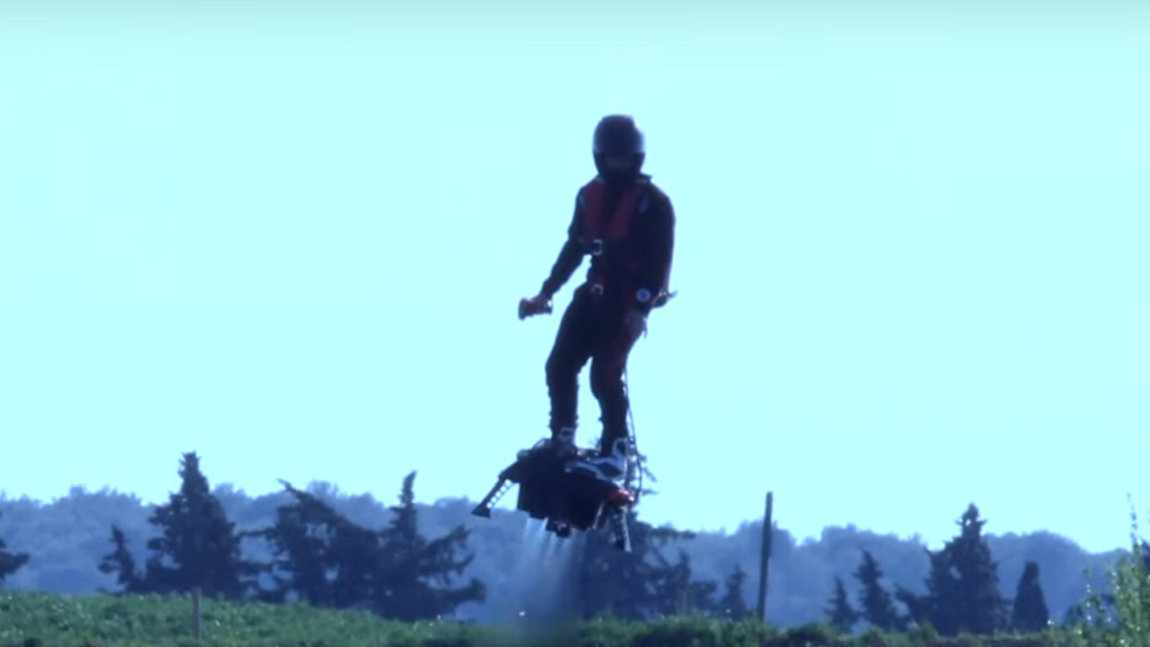 The Flyboard Air Hoverboard