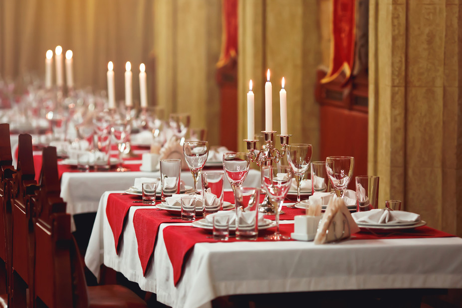 Image result for holiday at dinner table