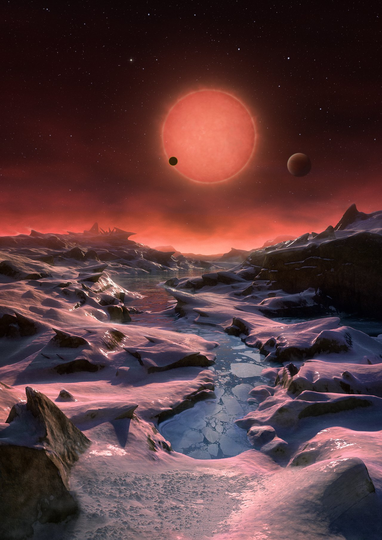 Just 40 light years from Earth, three planets might host life ...
