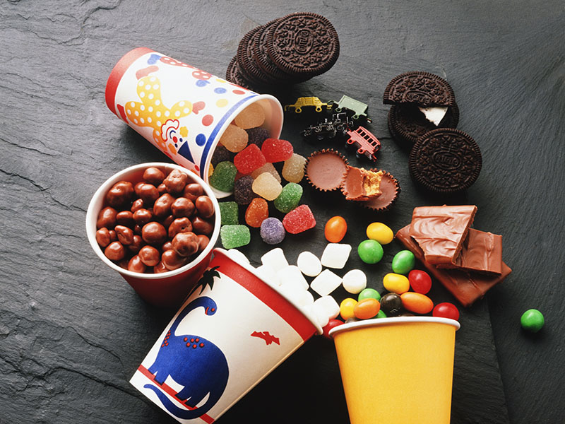 Three Unhealthy Foods Marketed To Children
