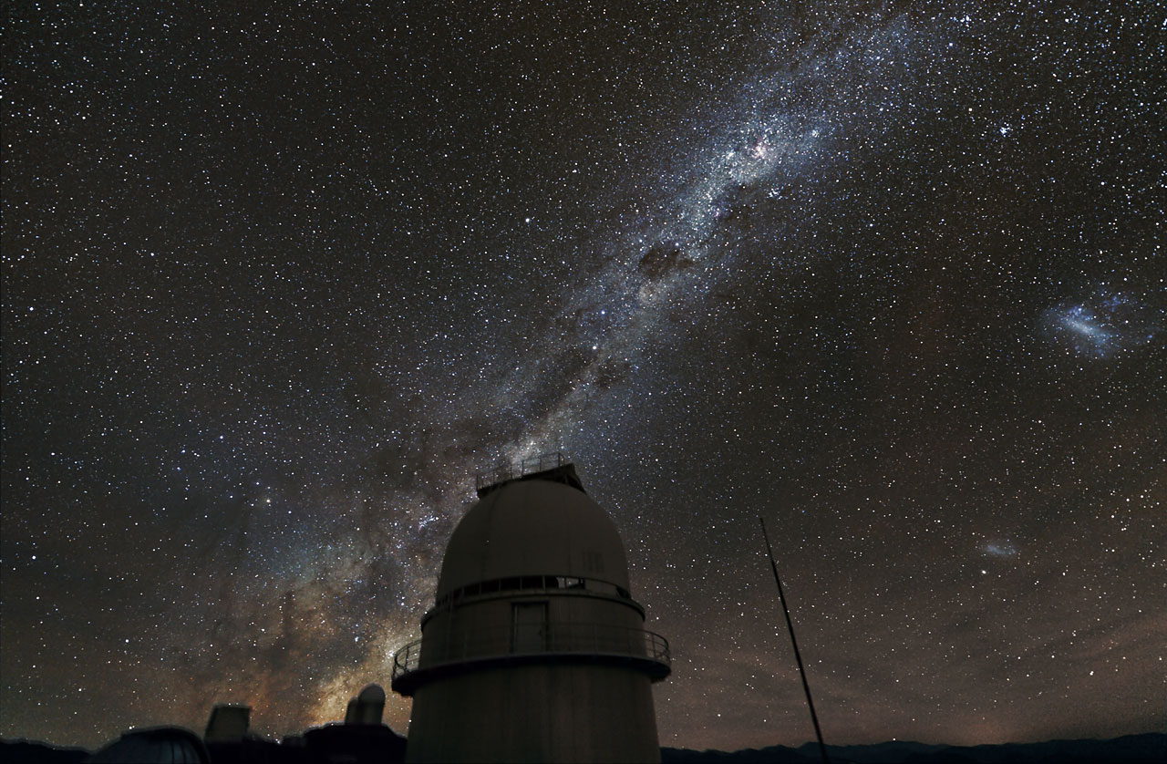 what are magellanic clouds