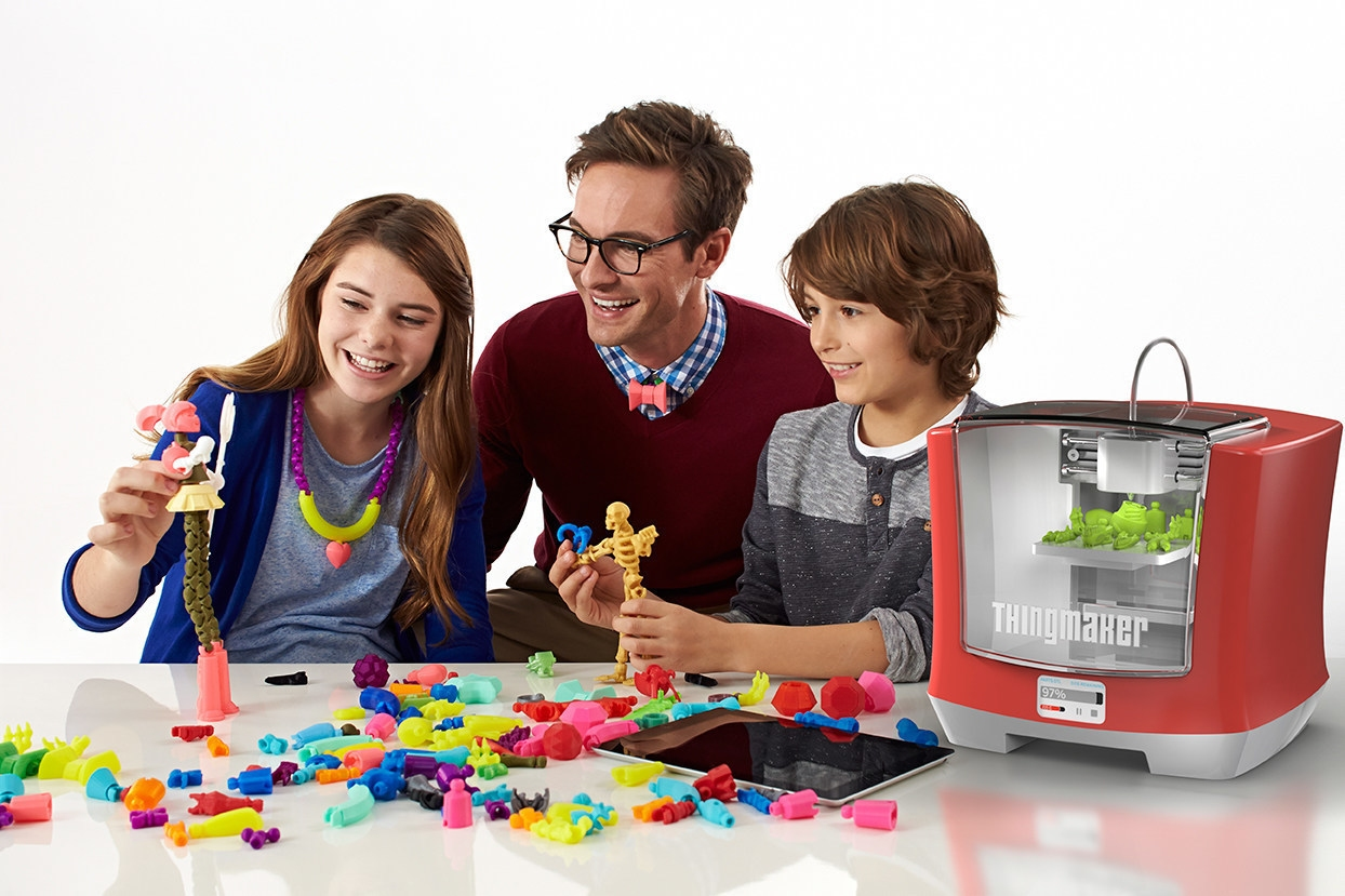 When 3D printing is turned into kids\' play: ThingMaker