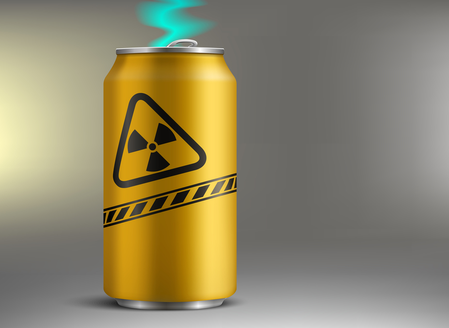 When Energy Drinks Actually Contained Radioactive Energy