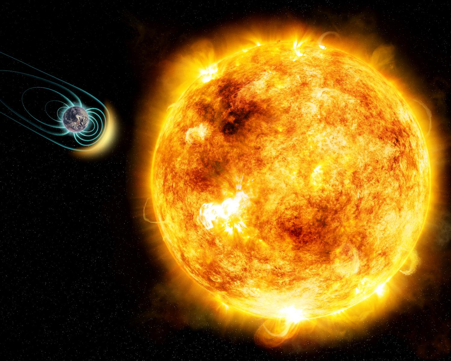 Young sun-like star shows a magnetic field was critical ...