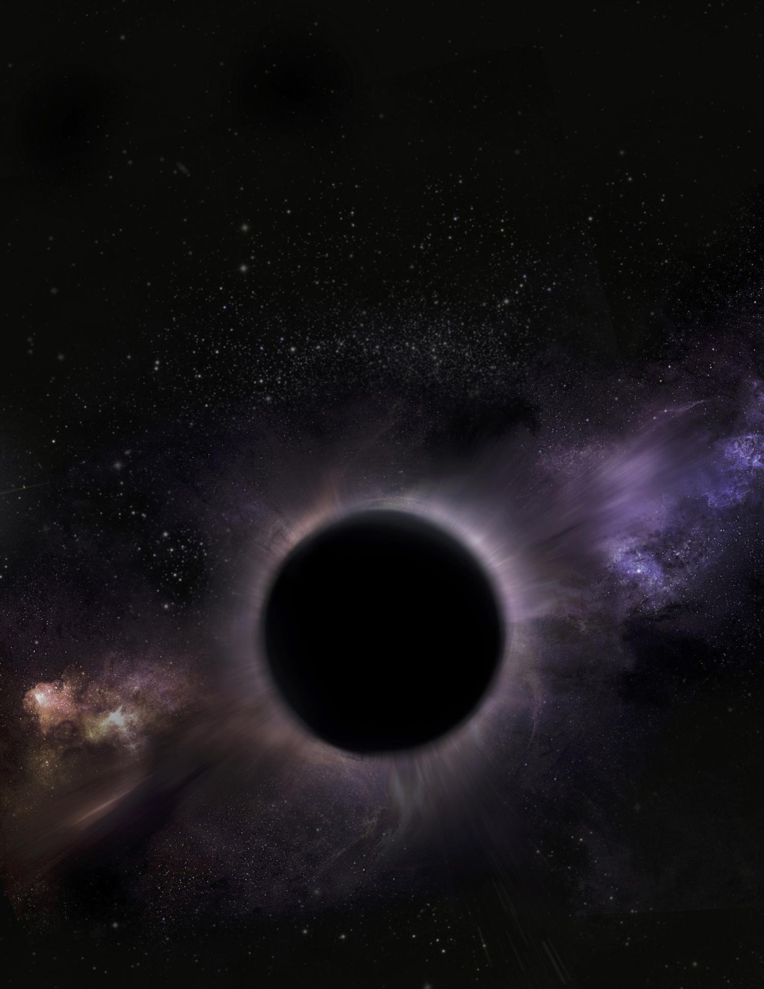 A middleweight black hole is hiding at the center of a ...