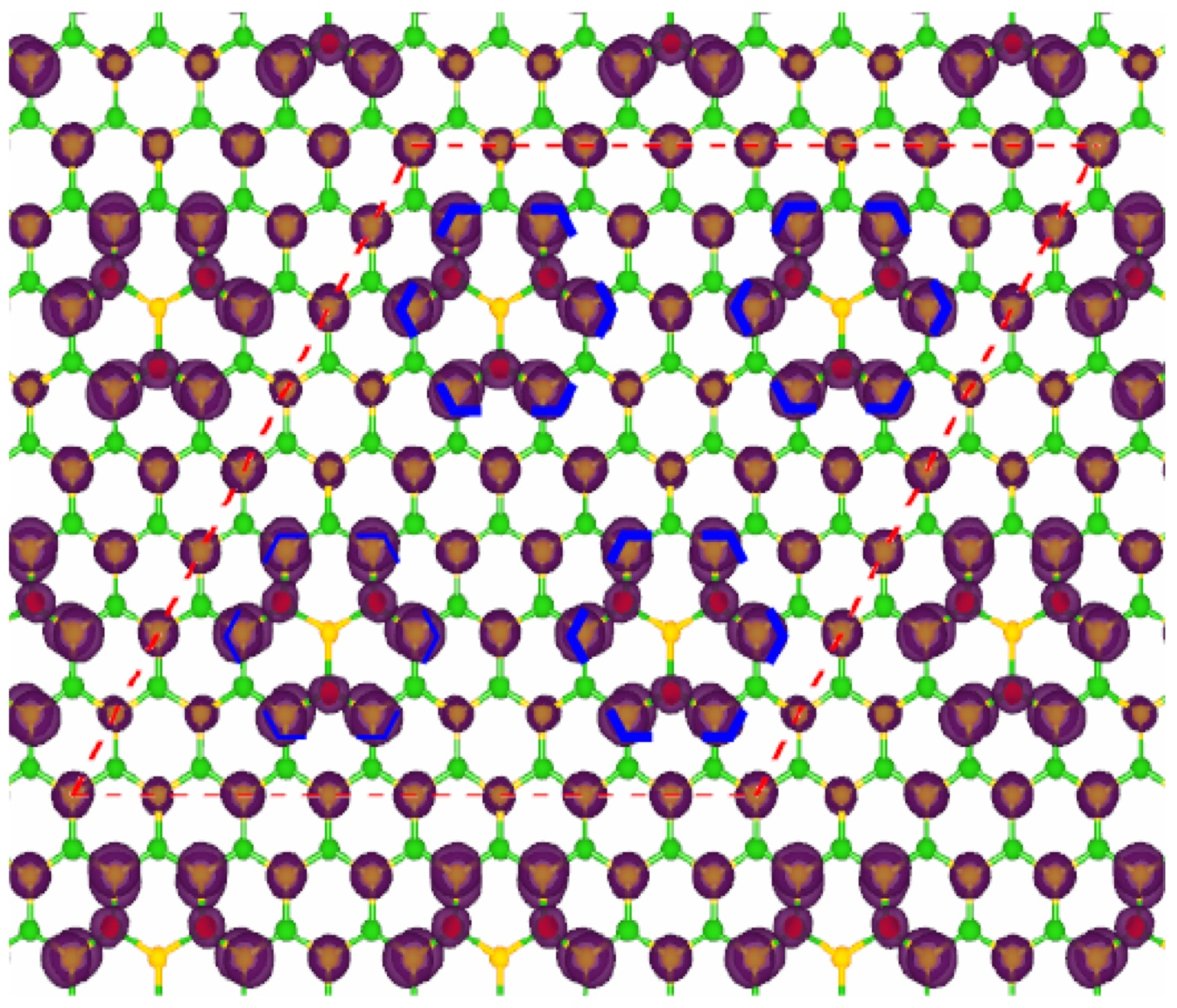 Fluorine grants white graphene new powers: Researchers turn common insulator into a magnetic semiconductor