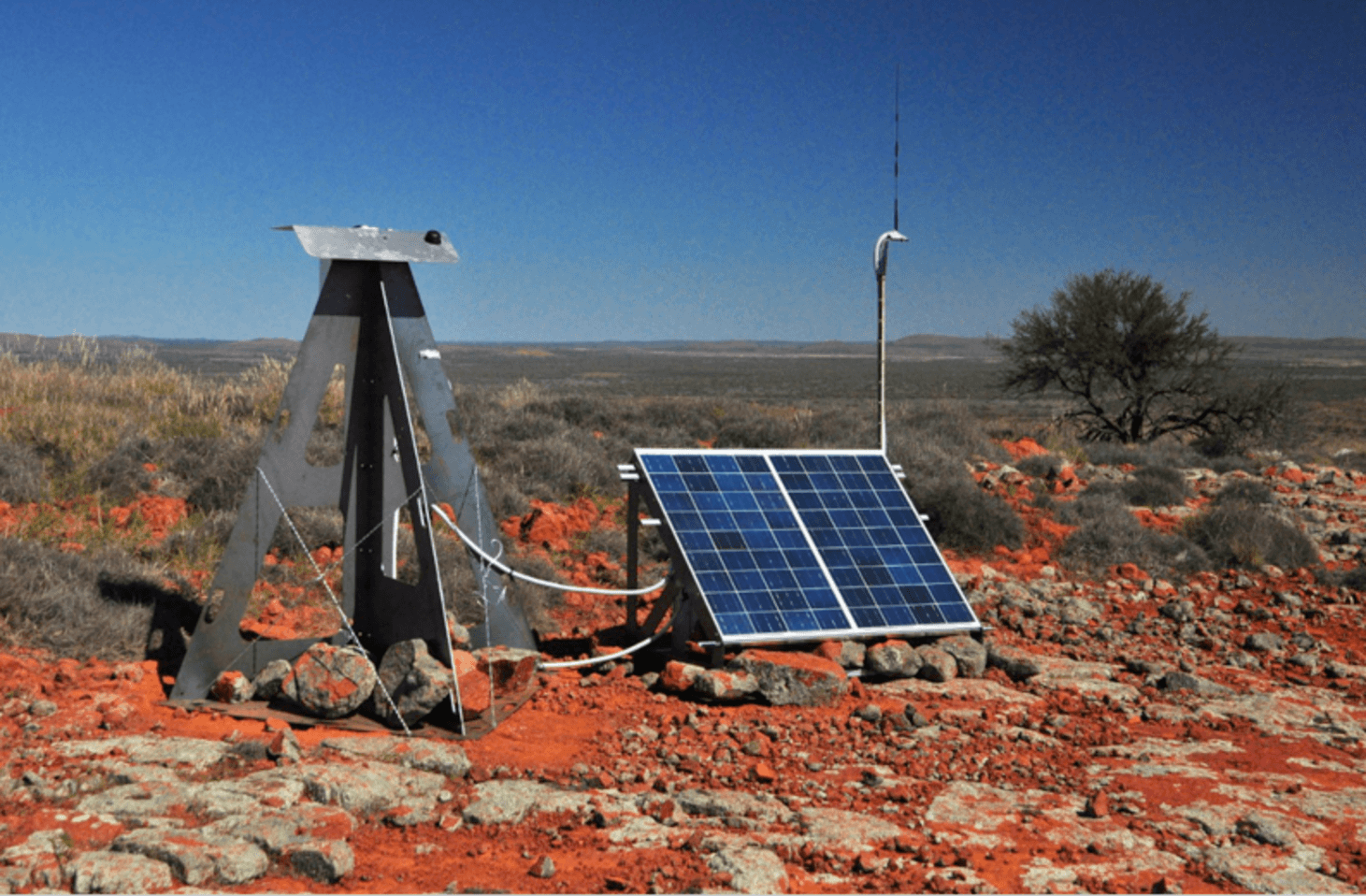 The blueprint for a global fireball observatory and why we need one one of the cameras in the nullarbor desert in southern australia credit dfn malvernweather Choice Image