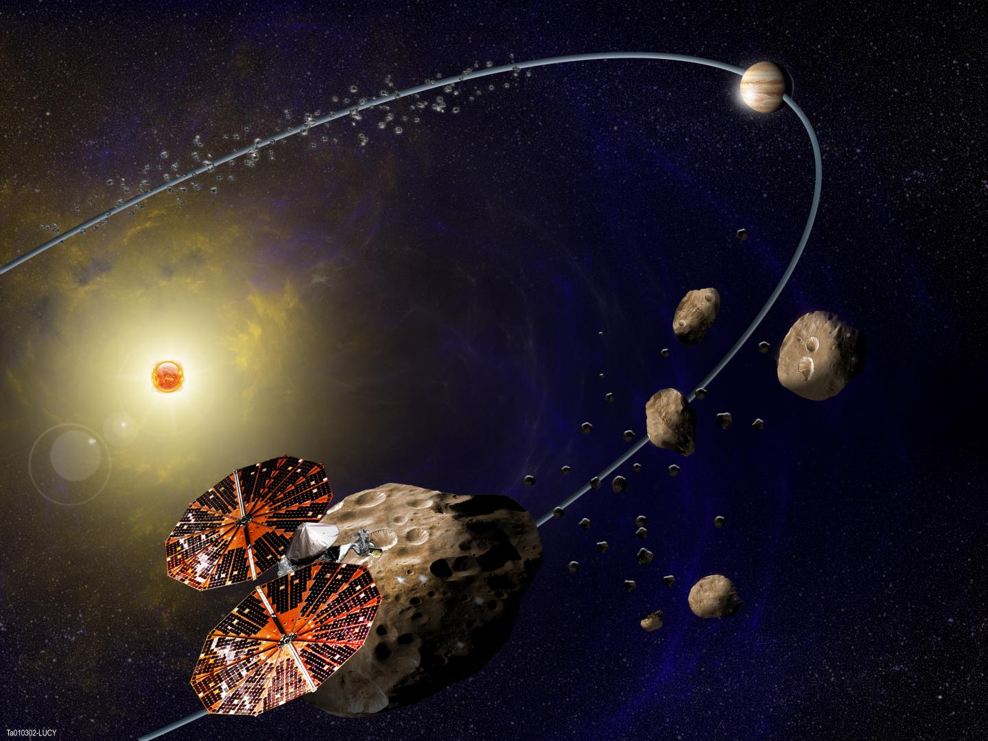 NASA selects mission to study Jupiter's Trojan asteroids