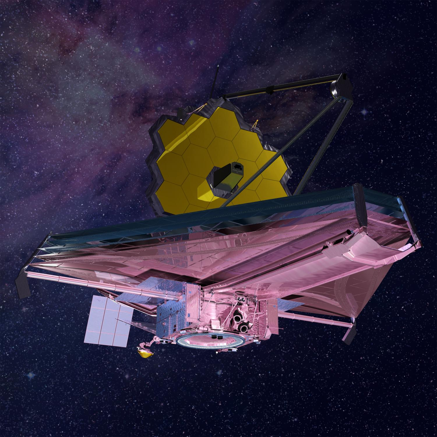 webb telescope to resume vibration testing in computer graphic rendering of nasa s james webb space telescope credit northrop grumman
