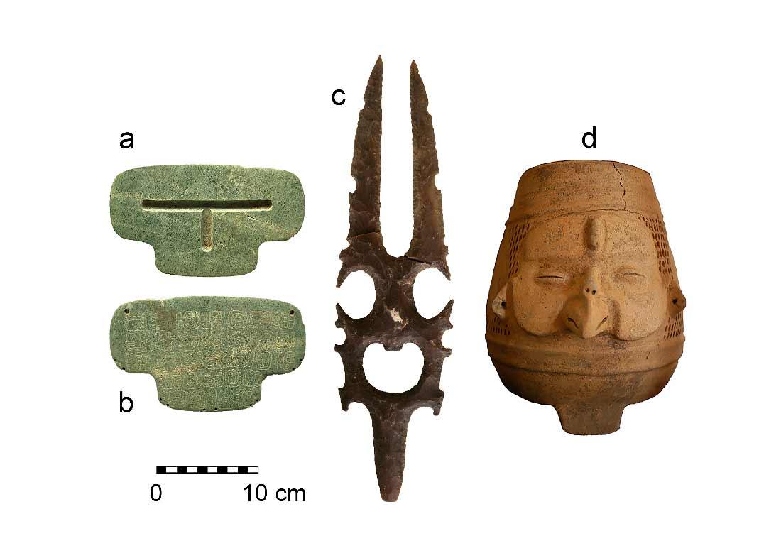 second largest maya jade found in belize has unique