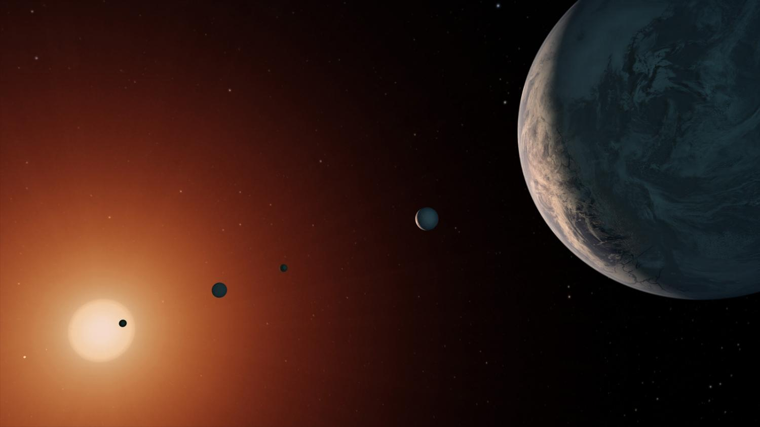 TRAPPIST-1 is older than our solar system