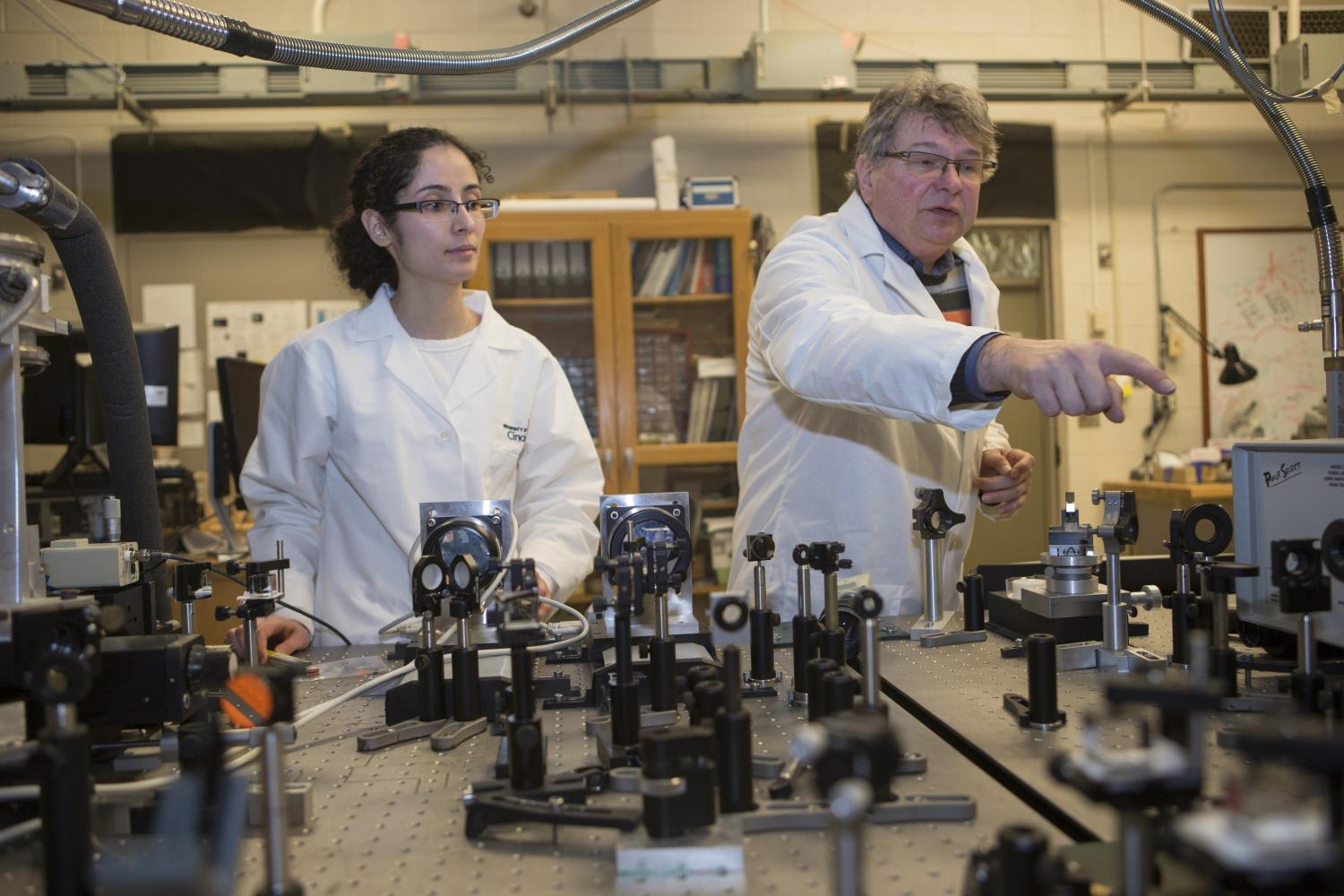 Physicists Experiment With Nanowire In A Promising Field That Could Electrical Circuit Teaching Instrument Resistivitychina Fatemesadat Mohammadi And Associate Professor Hans Peter Wagner Are Exploring Semiconductors To Harness The Power Of Light At Nano Level