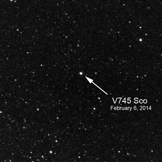 V745 Sco Two Stars Three Dimensions And Oodles Of Energy