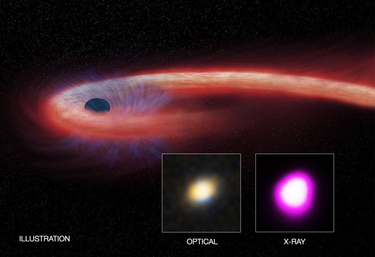 Scientists Spot Insatiable Black Hole and Record-Breaking Buffet