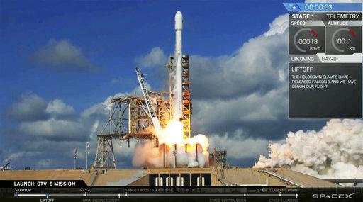 spacex launches air force s super secret minishuttle