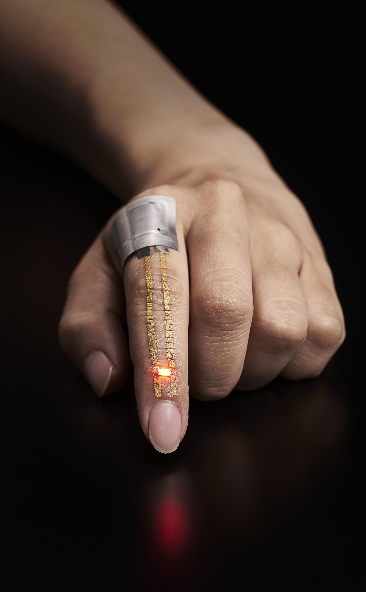Breathable wearable electronics on skin for long term for Best moisturizer for tattoo