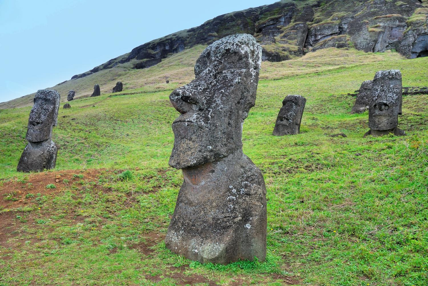 The Easter Island Heads Mystery