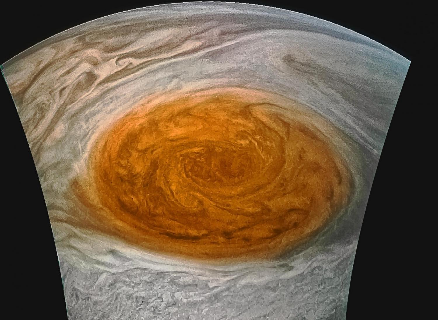 After 350 Years, Jupiter's Great Red Spot Finally Probed Successfully!