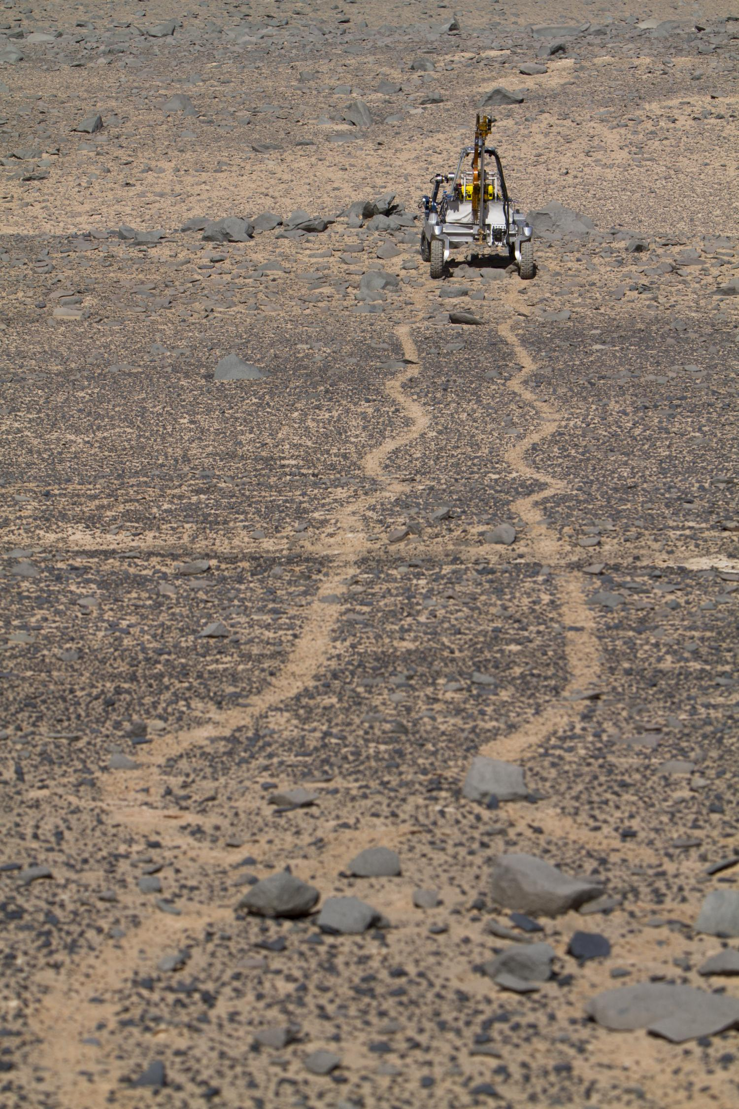 Mars rover tests driving, drilling and detecting life in ...