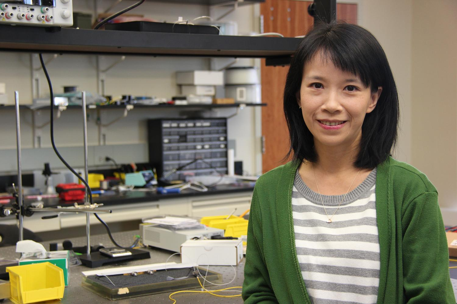Researcher Explores How Light Can Solve Wireless Space