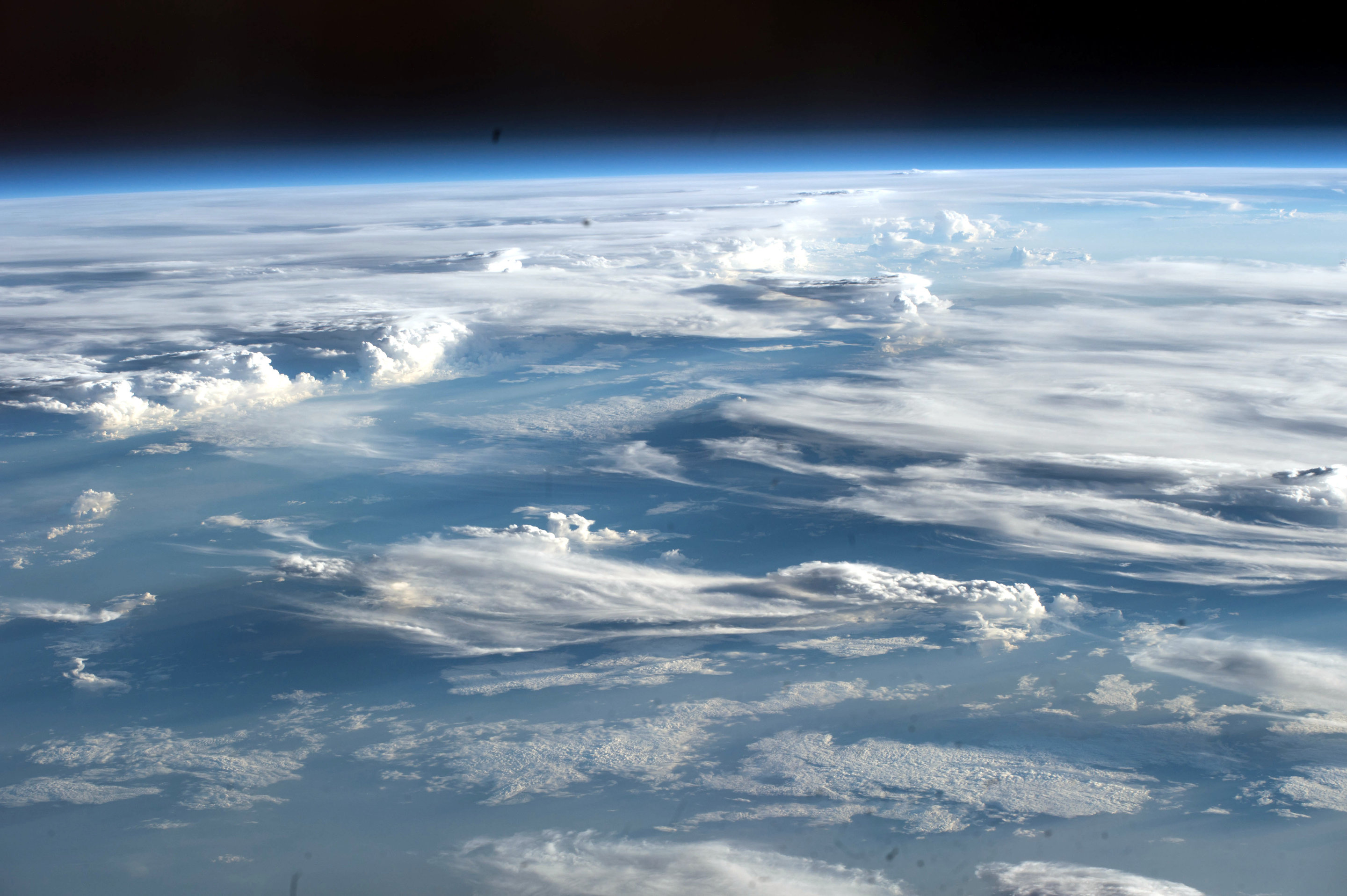 Image: Space Station Crew Sees Lots Of Clouds Over Sudan
