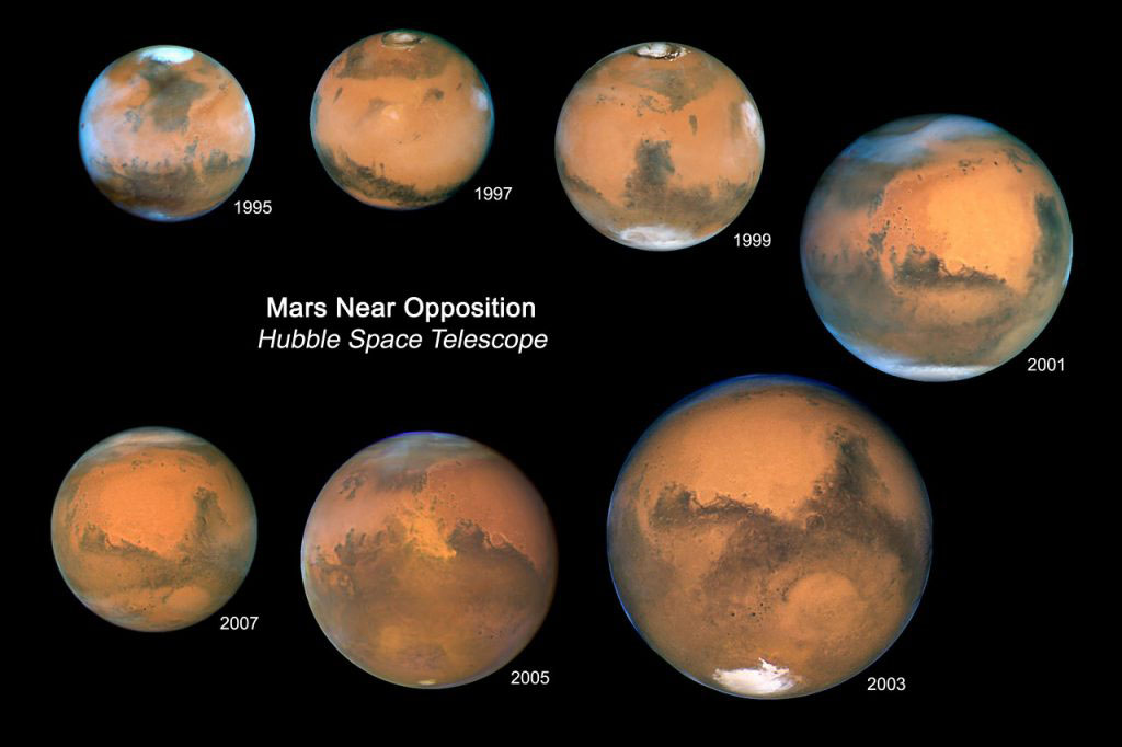 When will Mars be close to Earth?
