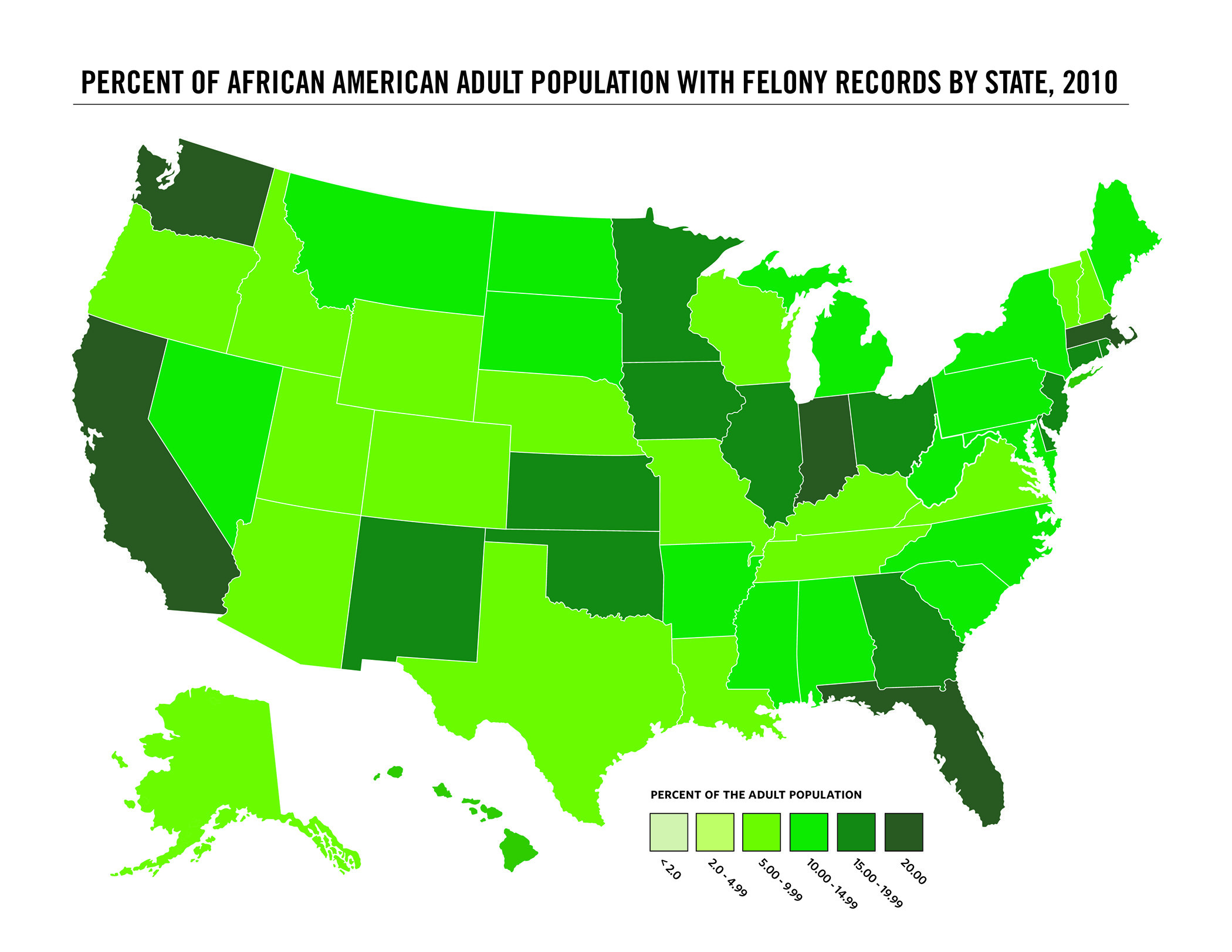 Study Provides First Estimate Of Total Us Population With Felony Convictions