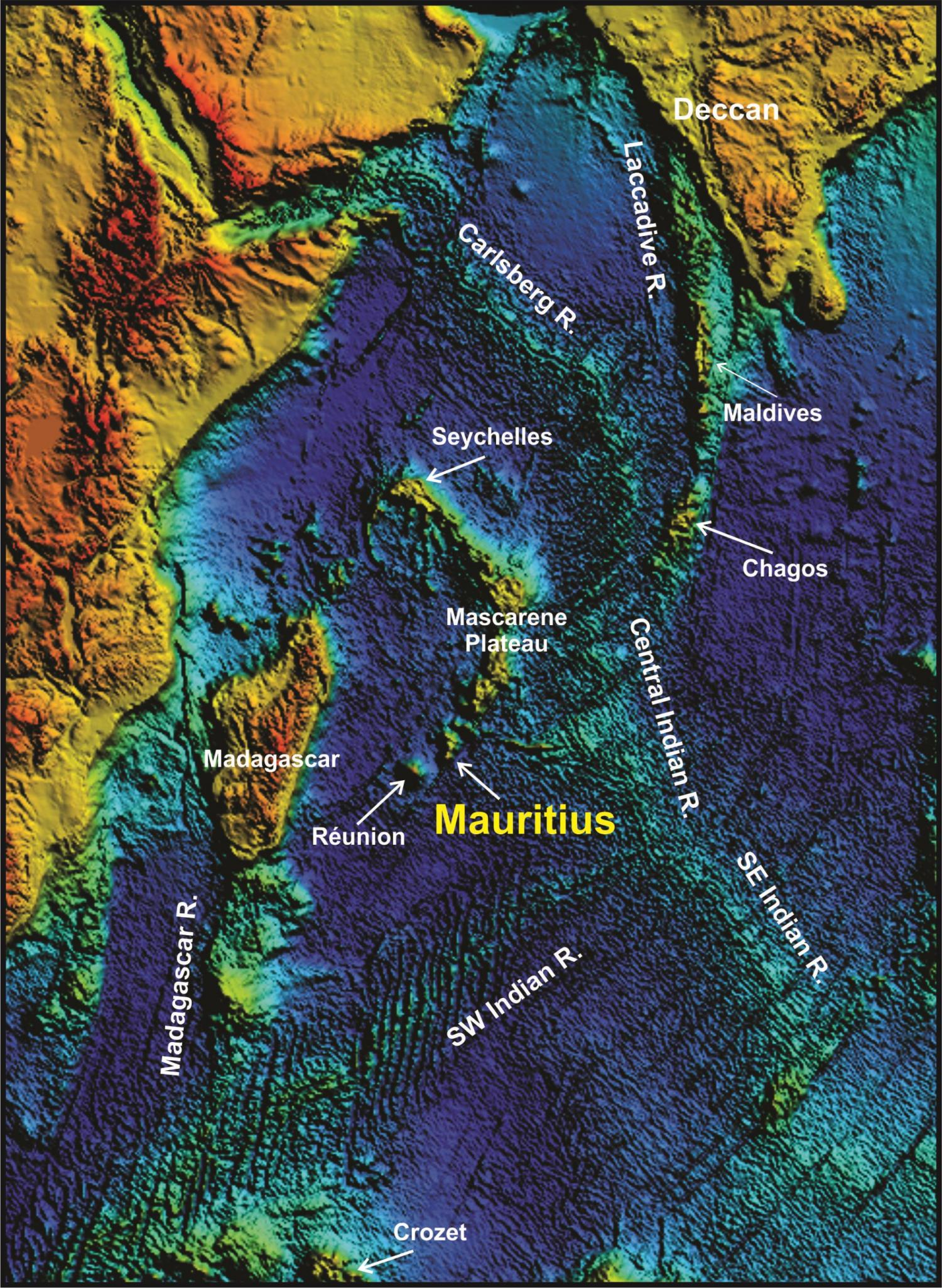 confirm the existence of a lost continent under Mauritius