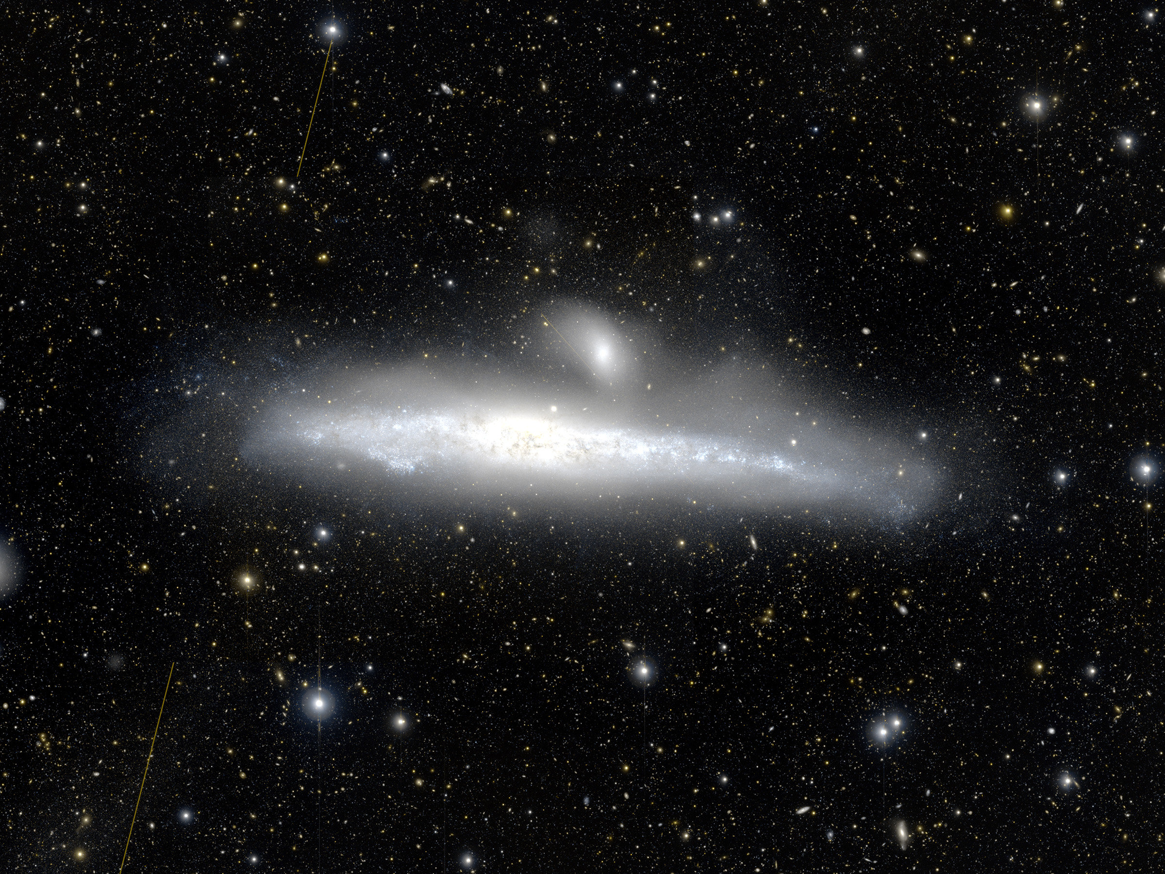 Uncovering the origins of galaxies' halos