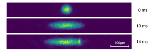 Physicists create 'negative mass'