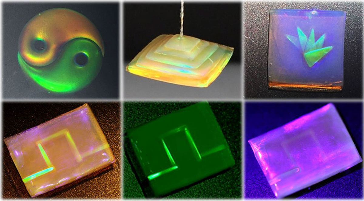 A Self Healing Structural Color Hydrogel Inspired By Nature