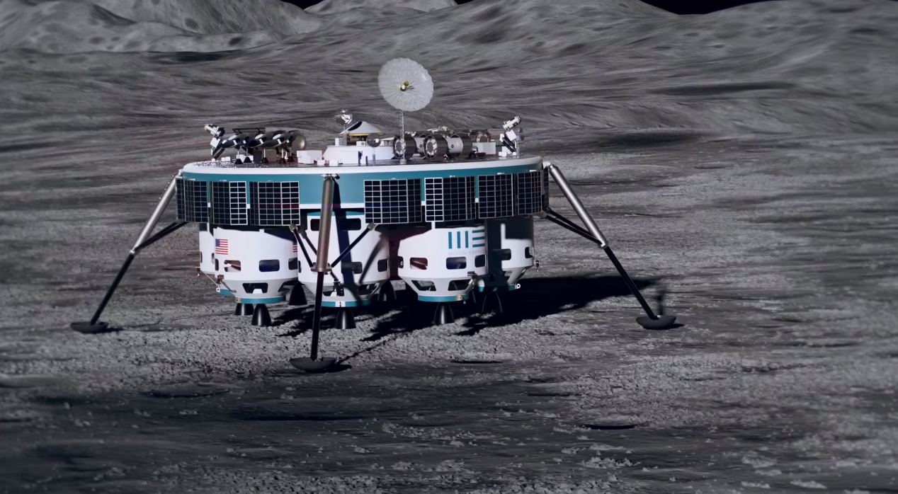 Private space company plans to mine rocks on the Moon