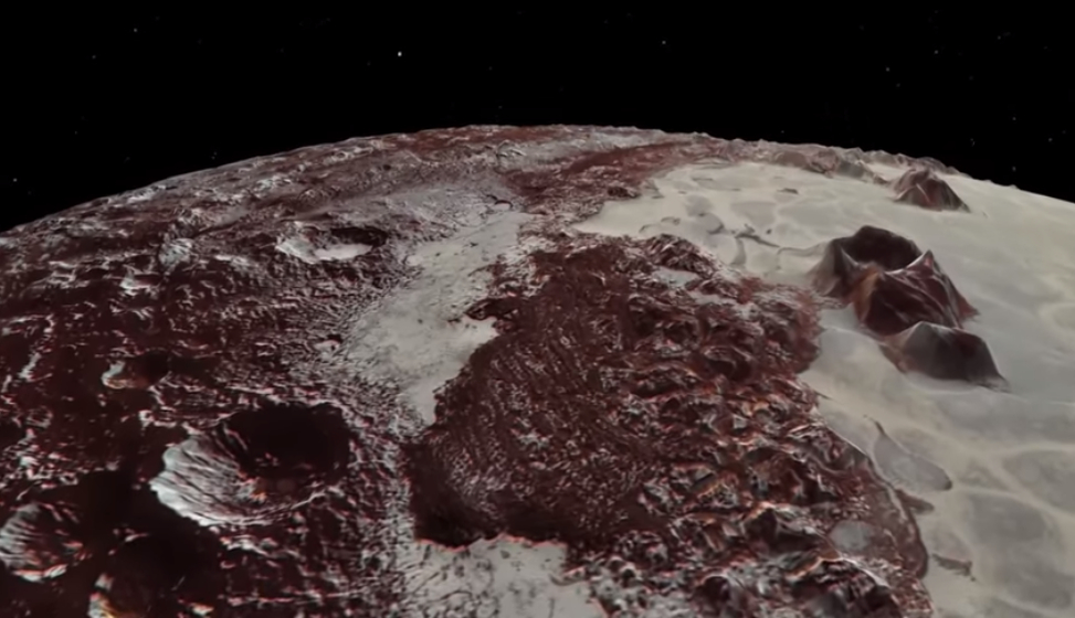 Kerberos Moon Of Plluto: Video: Flyover Of Pluto's Majestic Mountains And Icy Plains