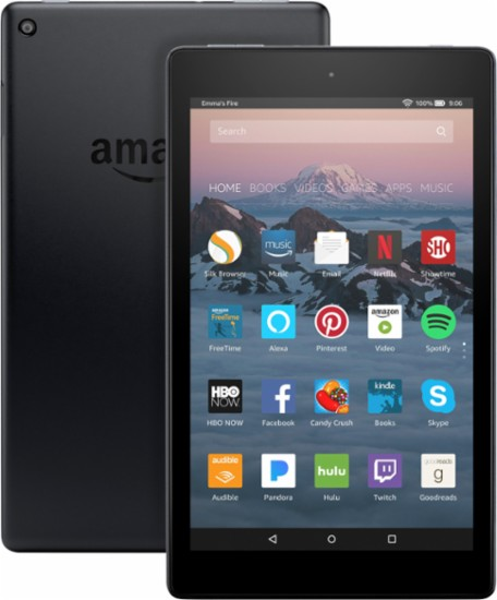 Gadgets: Amazon Fire HD 8 Tablet, Prime Choice