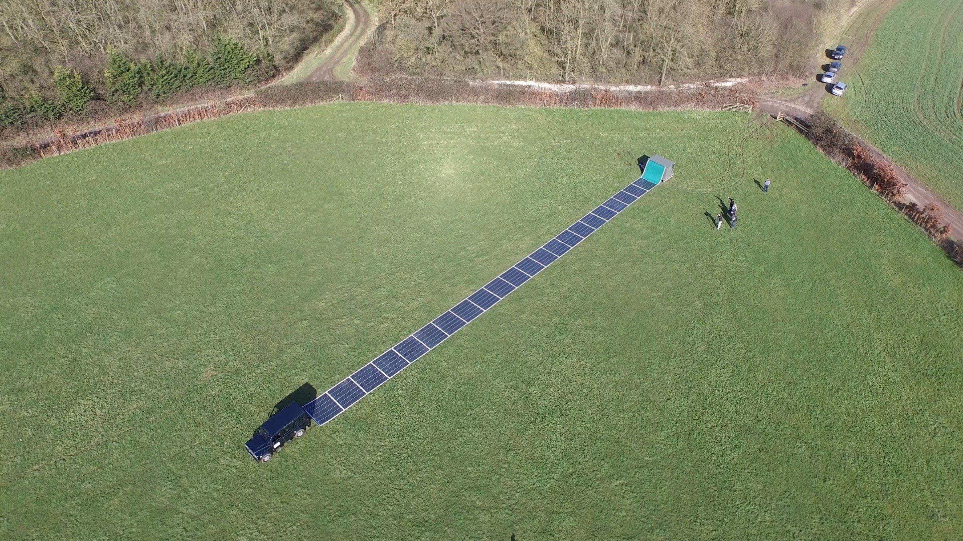 Power System Takes Portable Approach With Roll Up Solar Panels