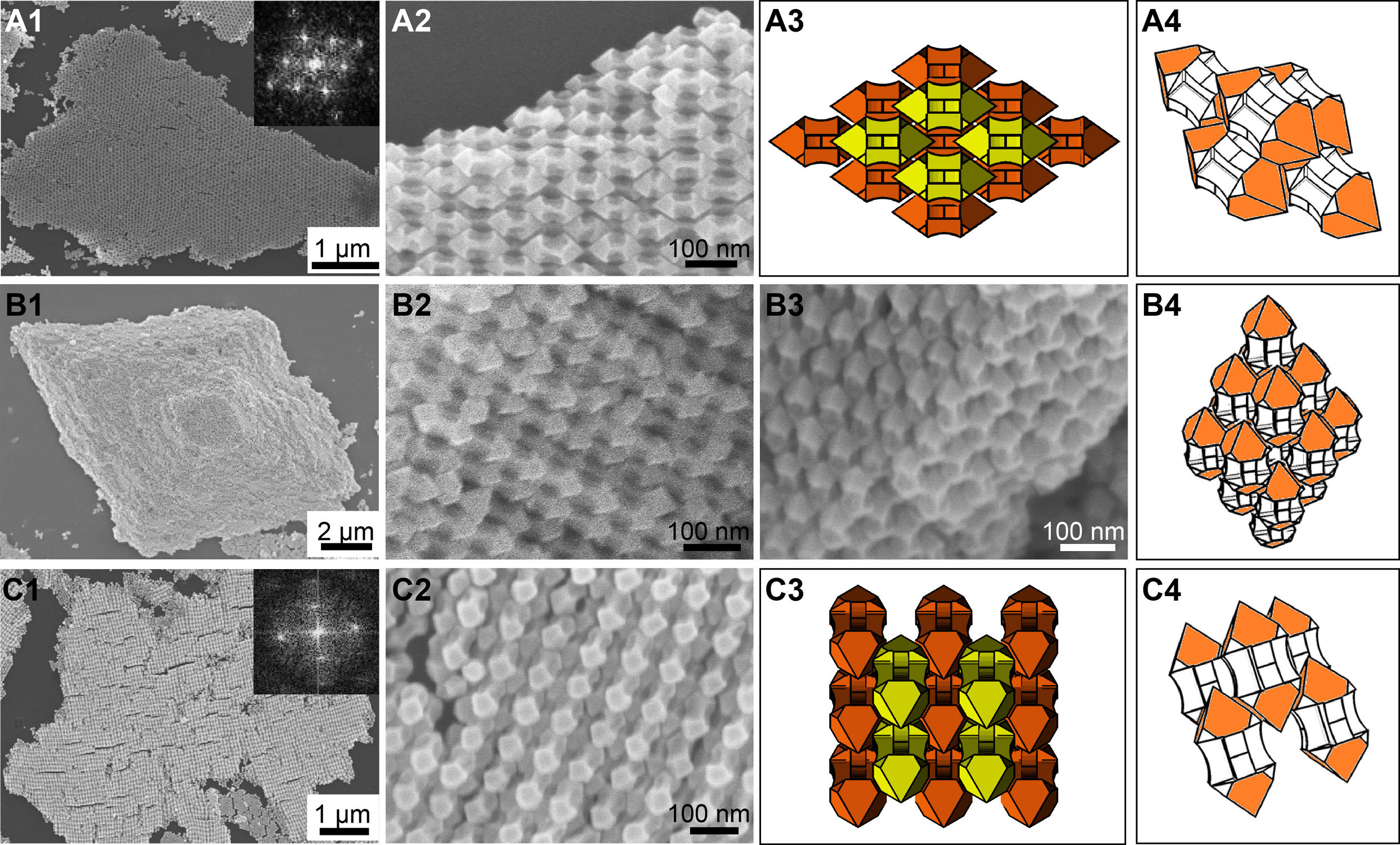 nano-arrows form basis of exotic new superstructures