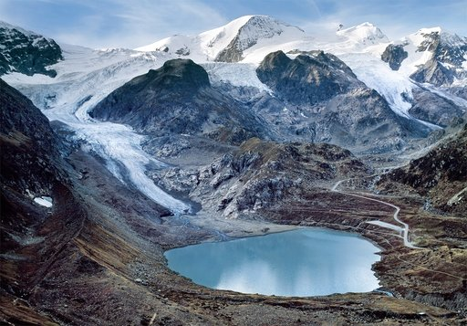 then and now how glaciers around the world are melting
