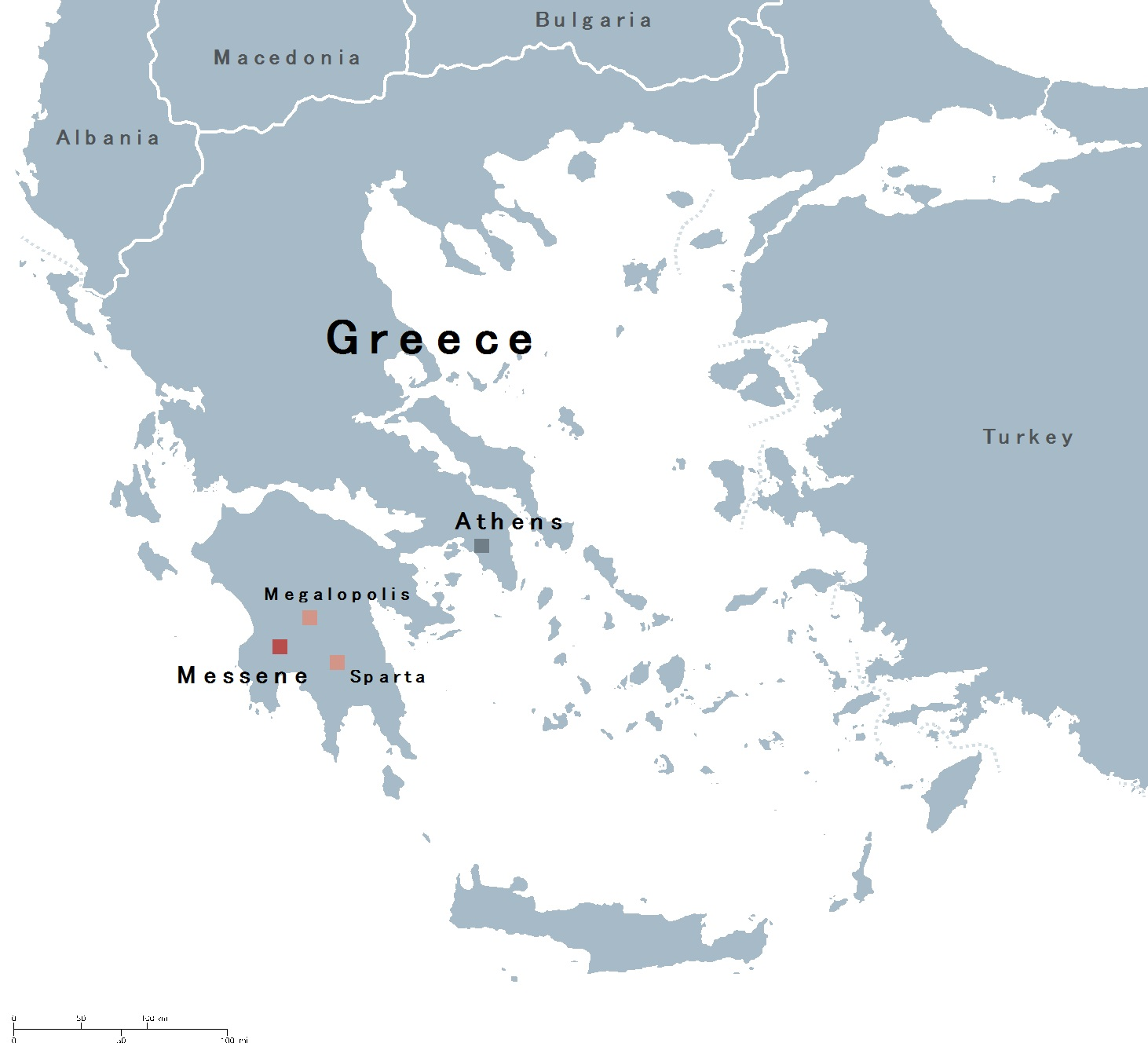 Ancient Greece Map Macedonia.Ancient Greek Theaters Used Moveable Stages More Than 2 000 Years Ago