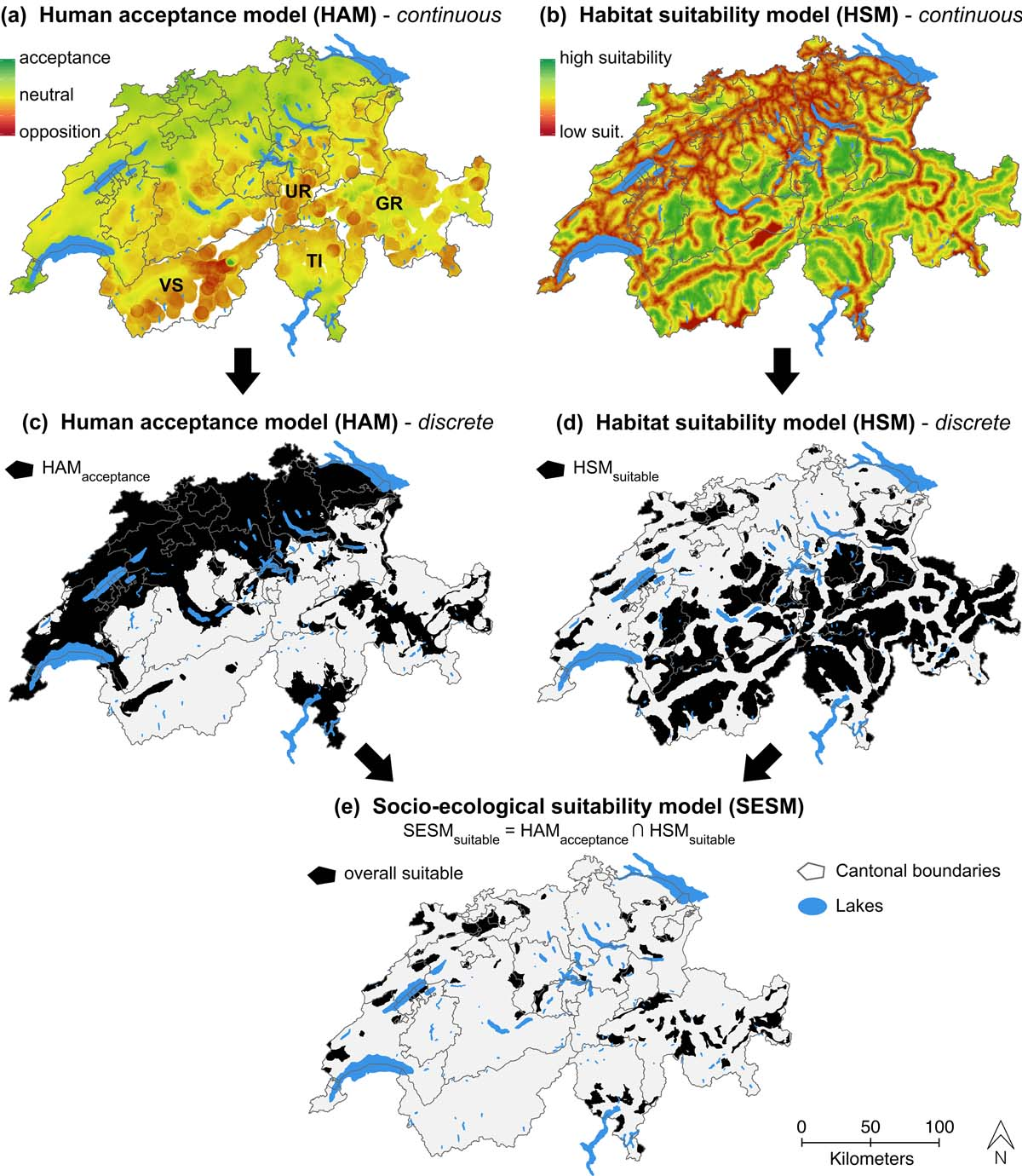 A novel socio ecological approach to identifying suitable Habitat deutschland