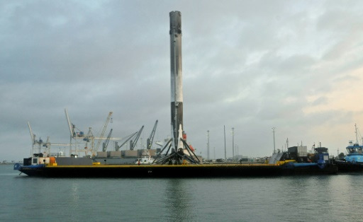SpaceX scrubs launch of national security satellite, now set for Monday