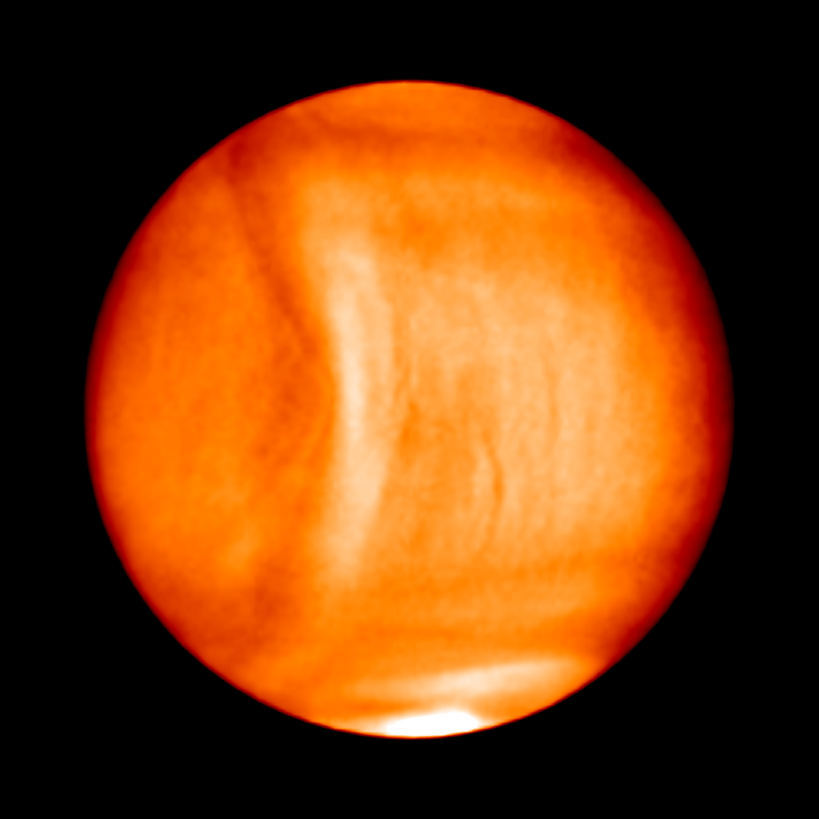 Astronomers spot strange, bow-like structure in Venus' atmosphere