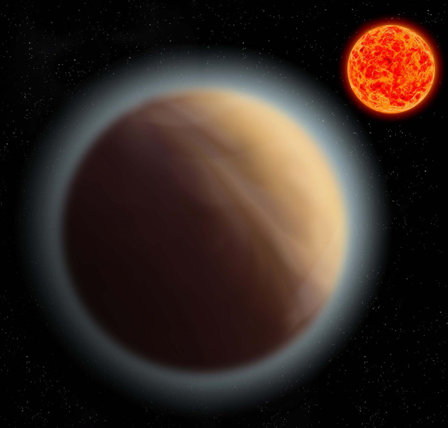 Earth-like Planet GJ 1132b has an Atmosphere around It