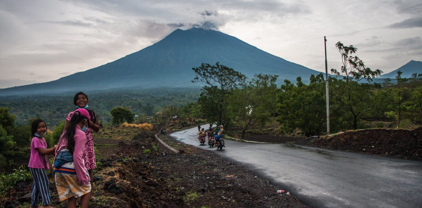 Bali S Agung Using Volcano Forensics To Map The Past And