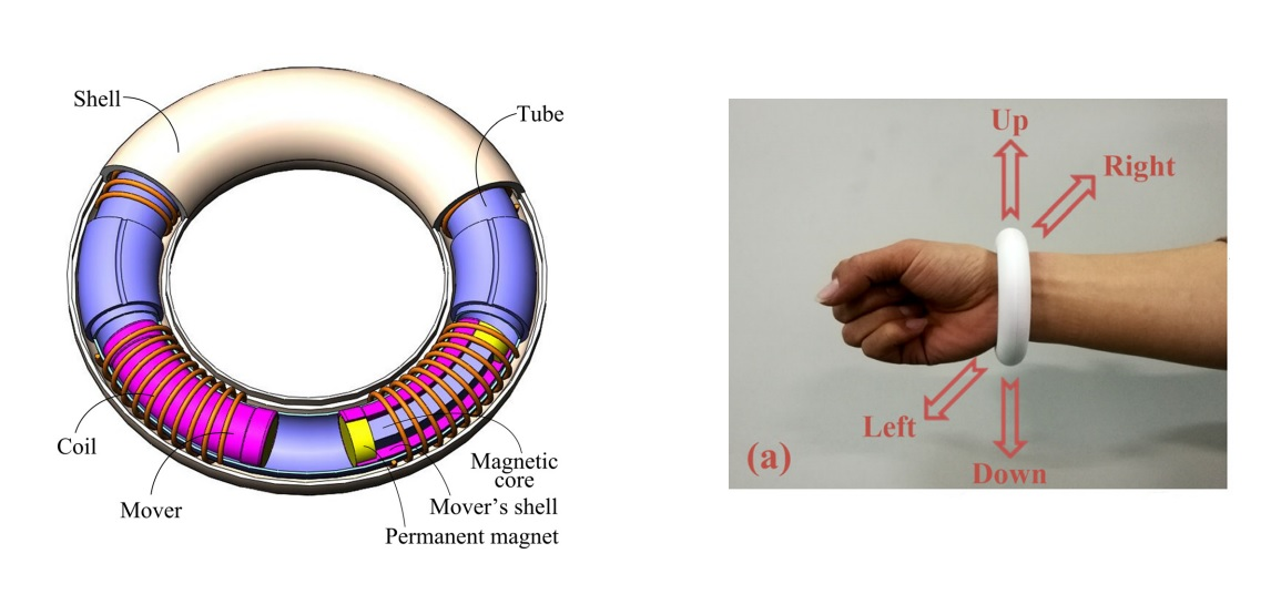 Energy-harvesting bracelet could power wearable electronics