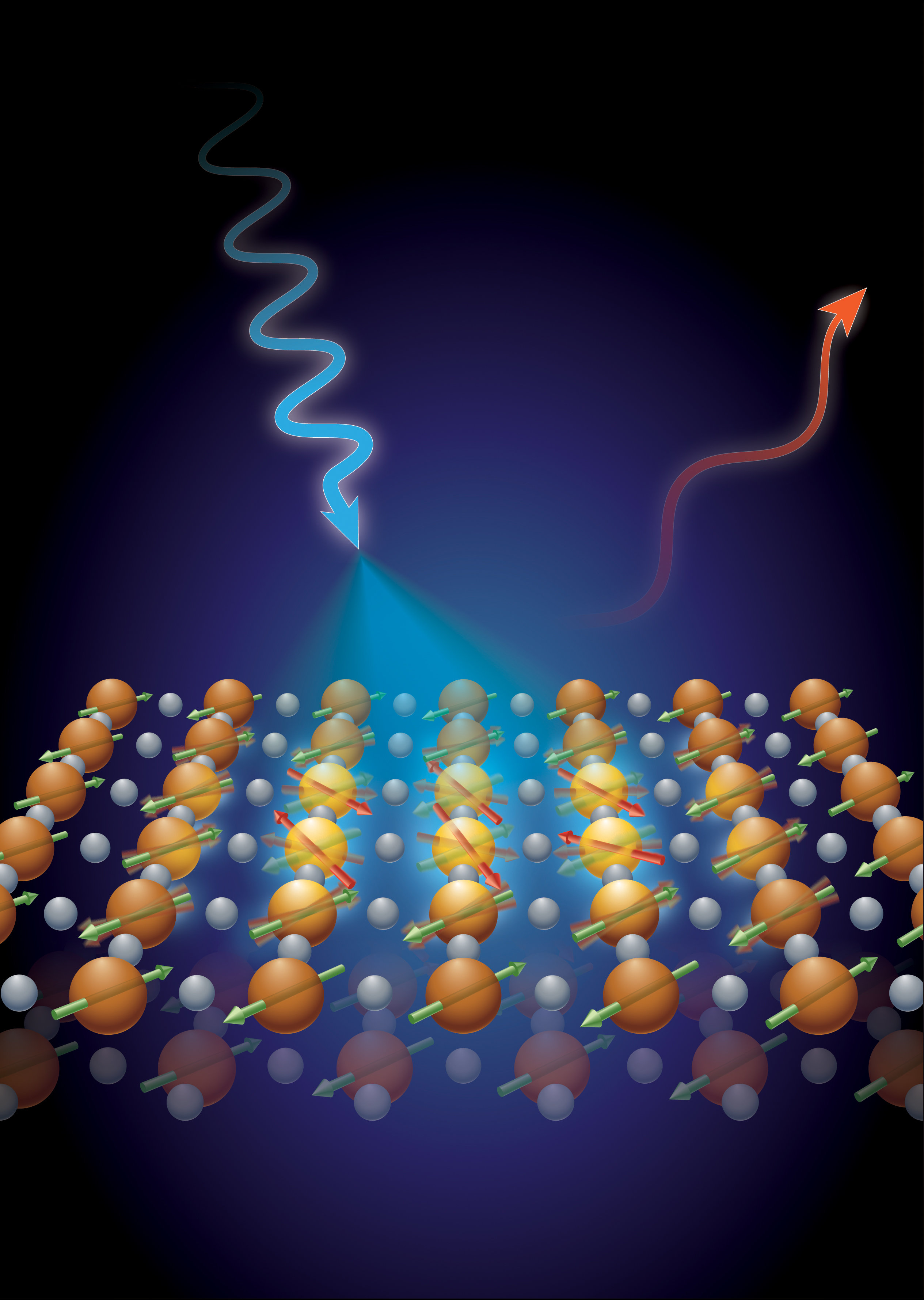 Breaking Electron Waves Provide New Clues To High