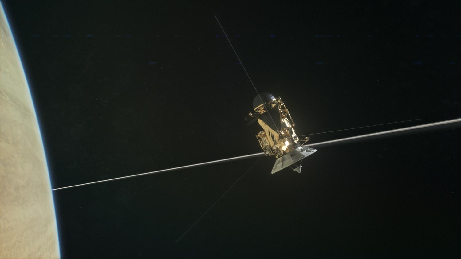 Cassini finds 'The Big Empty' close to Saturn