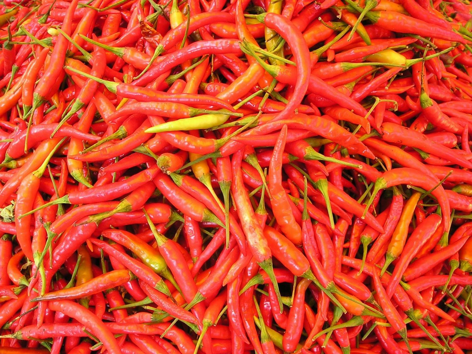 Active ingredients in both hot peppers and cannabis calm for Imagenes de productos americanos