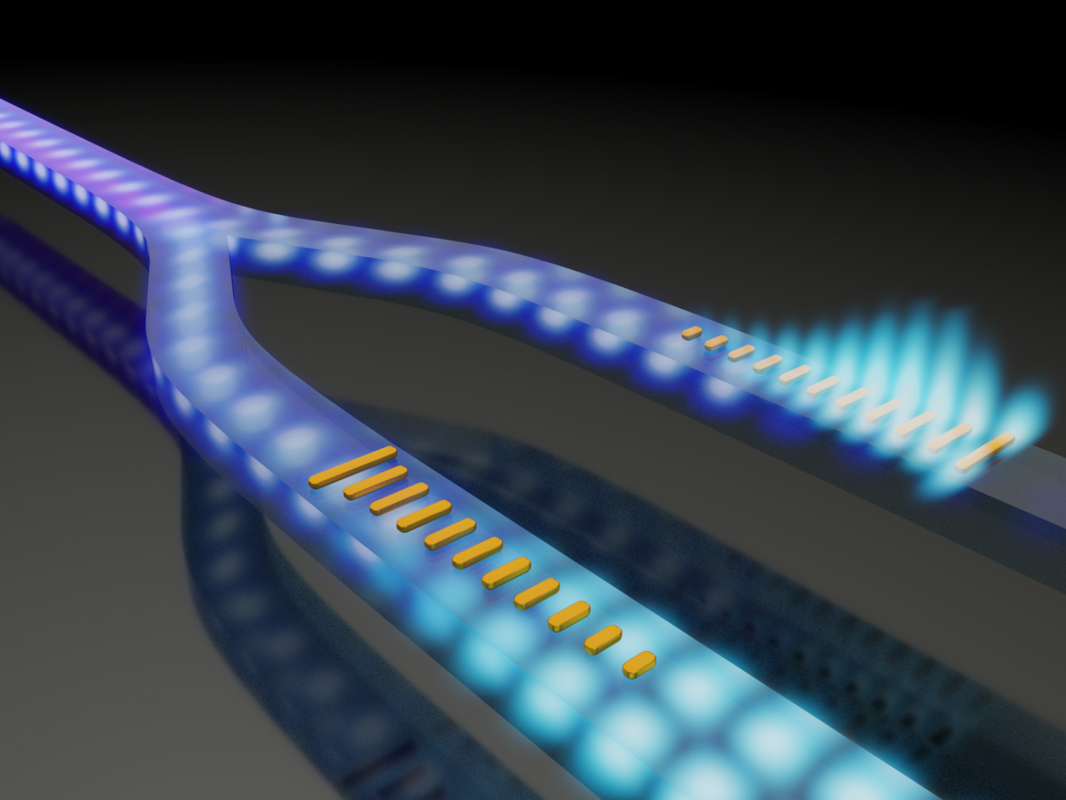 Engineers invent method to control light propagation in waveguides
