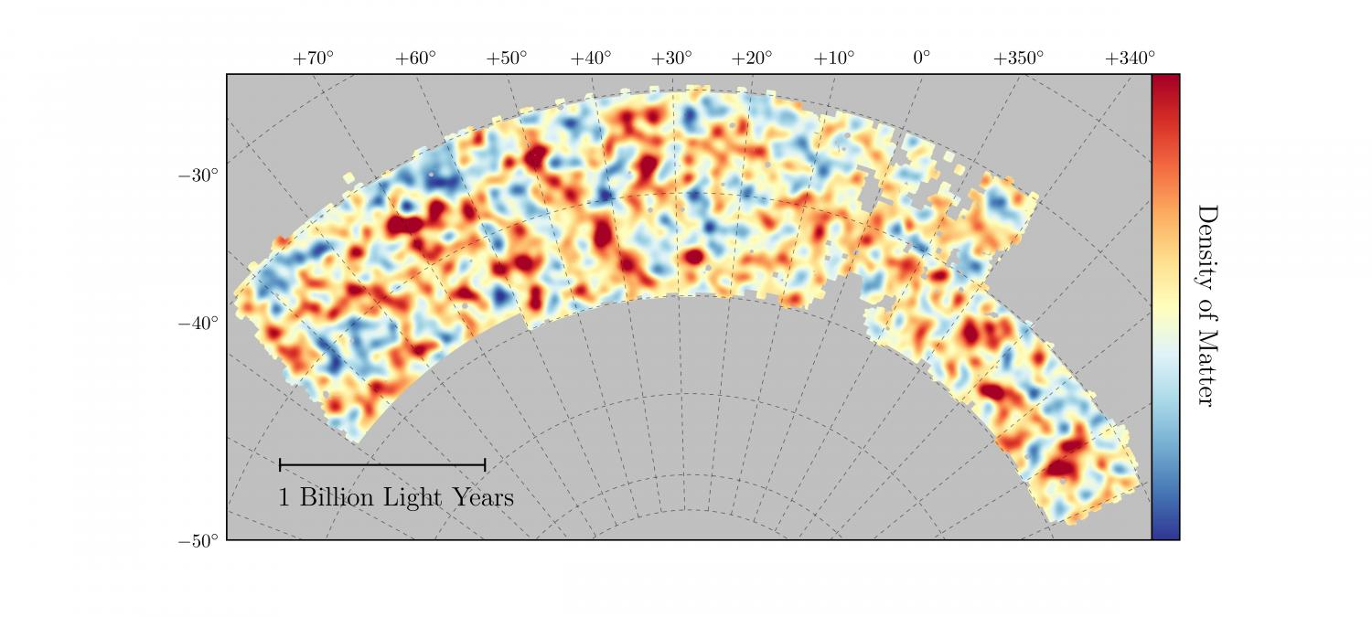 Dark Energy Survey Reveals Most Accurate Measurement Of Dark Matter