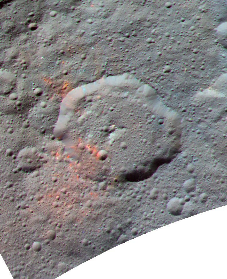 Dawn discovers evidence for organic material on Ceres